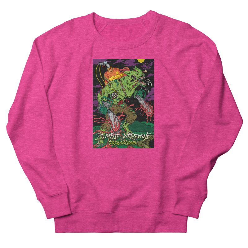 The Zombie Werewolf Men's French Terry Sweatshirt by Poisoning the Well Swag Shop