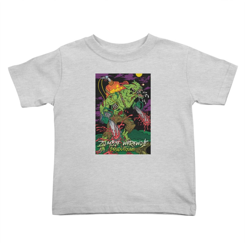 Zombie Werewolf Productions Kids Toddler T-Shirt by Poisoning the Well Swag Shop