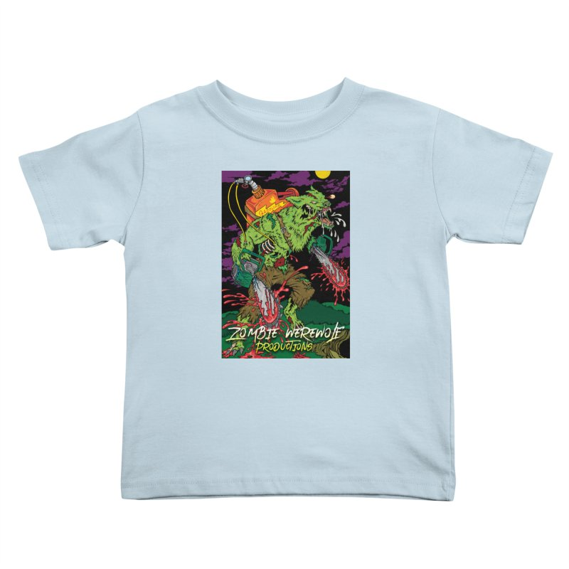 The Zombie Werewolf Kids Toddler T-Shirt by Poisoning the Well Swag Shop