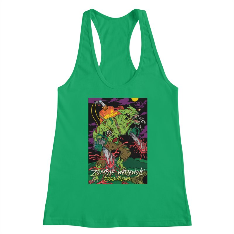 The Zombie Werewolf Women's Tank by Poisoning the Well Swag Shop