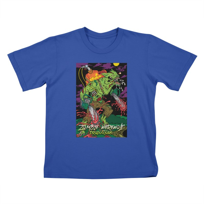 The Zombie Werewolf Kids T-Shirt by Poisoning the Well Swag Shop