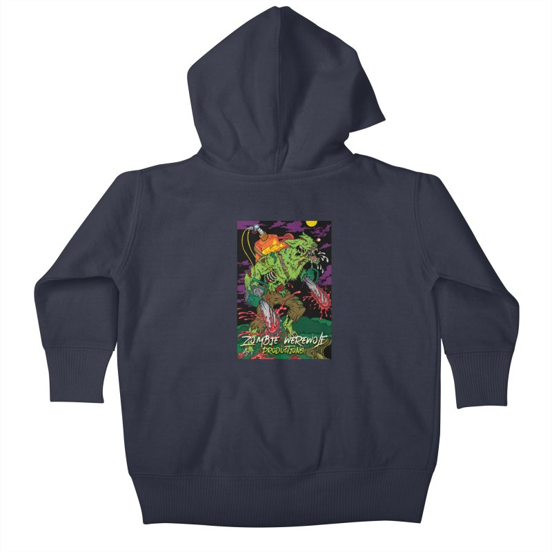 The Zombie Werewolf Kids Baby Zip-Up Hoody by Poisoning the Well Swag Shop