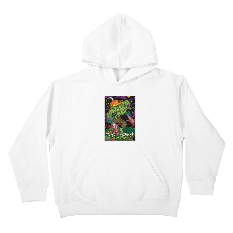 Zombie Werewolf Productions Kids Pullover Hoody by Poisoning the Well Swag Shop