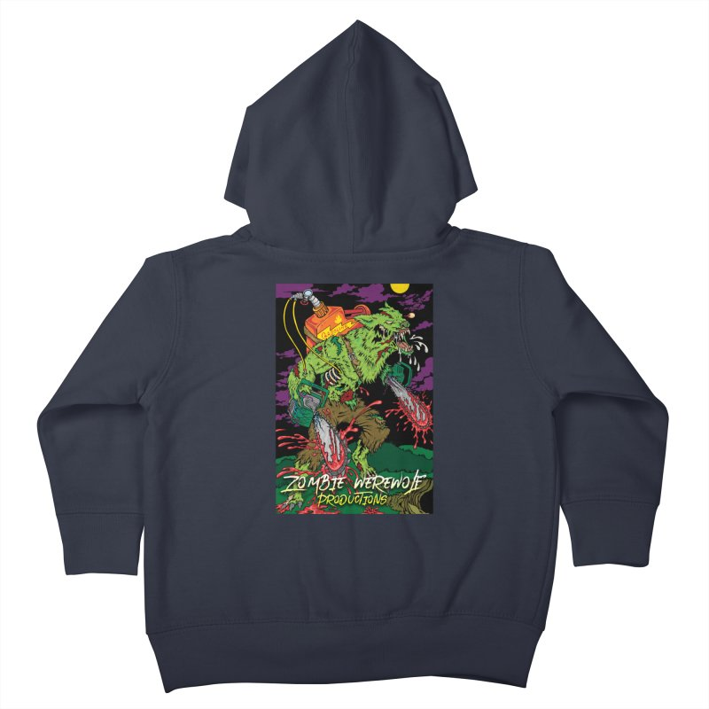 The Zombie Werewolf Kids Toddler Zip-Up Hoody by Poisoning the Well Swag Shop