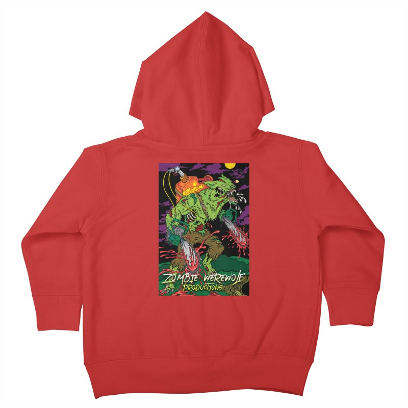 Zombie Werewolf Productions Kids Toddler Zip-Up Hoody by Poisoning the Well Swag Shop