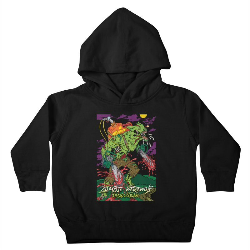 The Zombie Werewolf Kids Toddler Pullover Hoody by Poisoning the Well Swag Shop