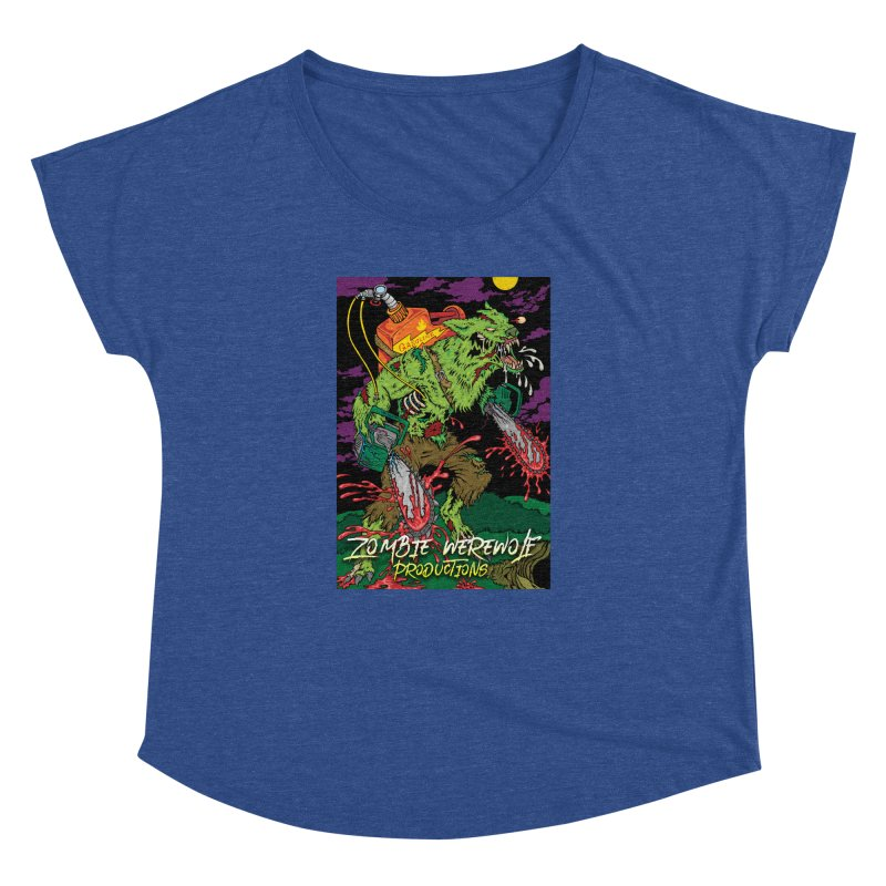 Zombie Werewolf Productions Women's Dolman Scoop Neck by Poisoning the Well Swag Shop