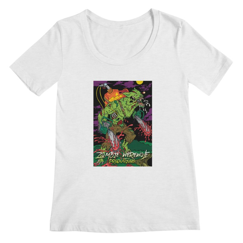 The Zombie Werewolf Women's Regular Scoop Neck by Poisoning the Well Swag Shop