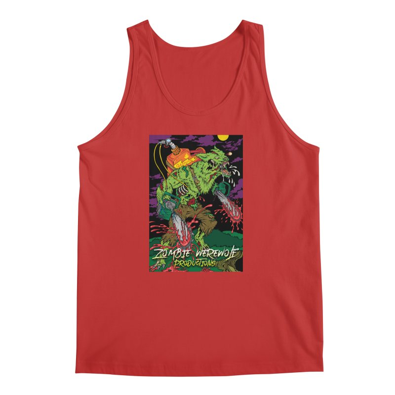 The Zombie Werewolf Men's Regular Tank by Poisoning the Well Swag Shop