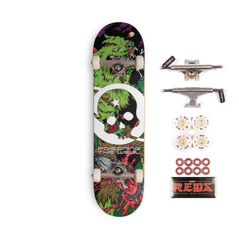 The Zombie Werewolf Accessories Complete - Pro Skateboard by Poisoning the Well Swag Shop