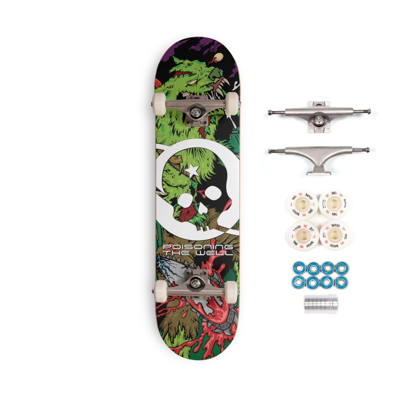 The Zombie Werewolf Accessories Complete - Premium Skateboard by Poisoning the Well Swag Shop