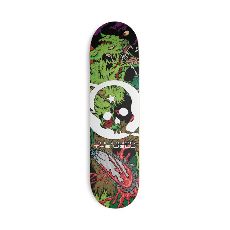 The Zombie Werewolf Accessories Deck Only Skateboard by Poisoning the Well Swag Shop