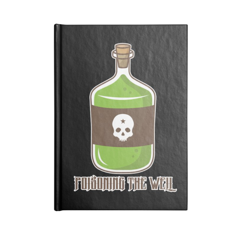 Classic Bottle of Poison Accessories Blank Journal Notebook by Poisoning the Well Swag Shop