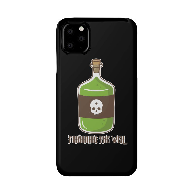 Classic Bottle of Poison Accessories Phone Case by Poisoning the Well Swag Shop