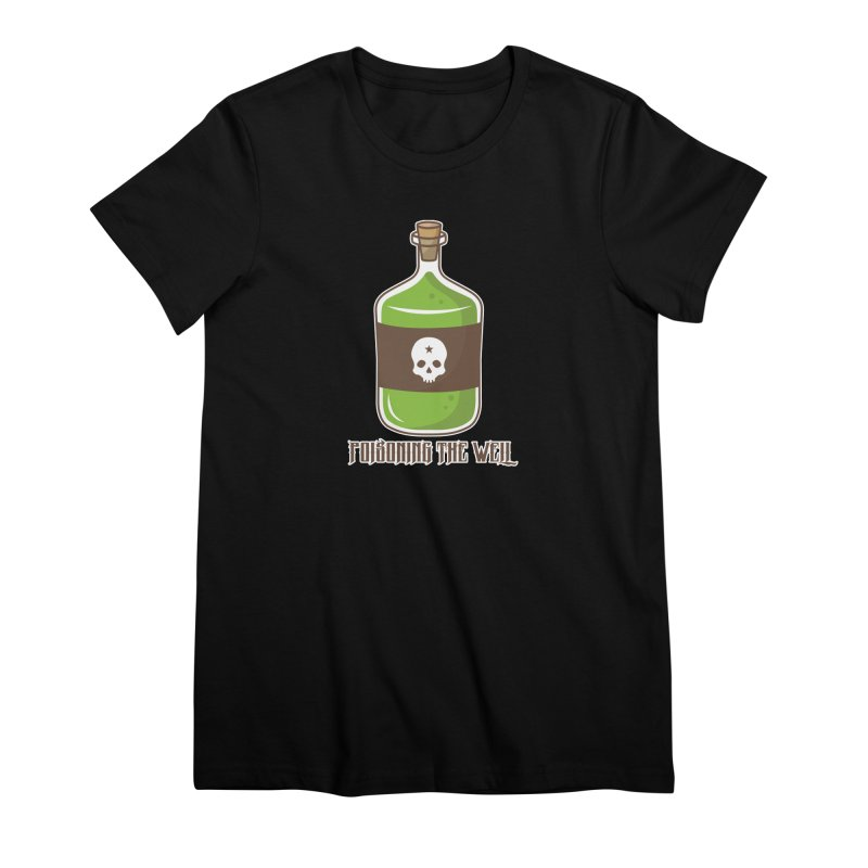Classic Bottle of Poison Women's Premium T-Shirt by Poisoning the Well Swag Shop