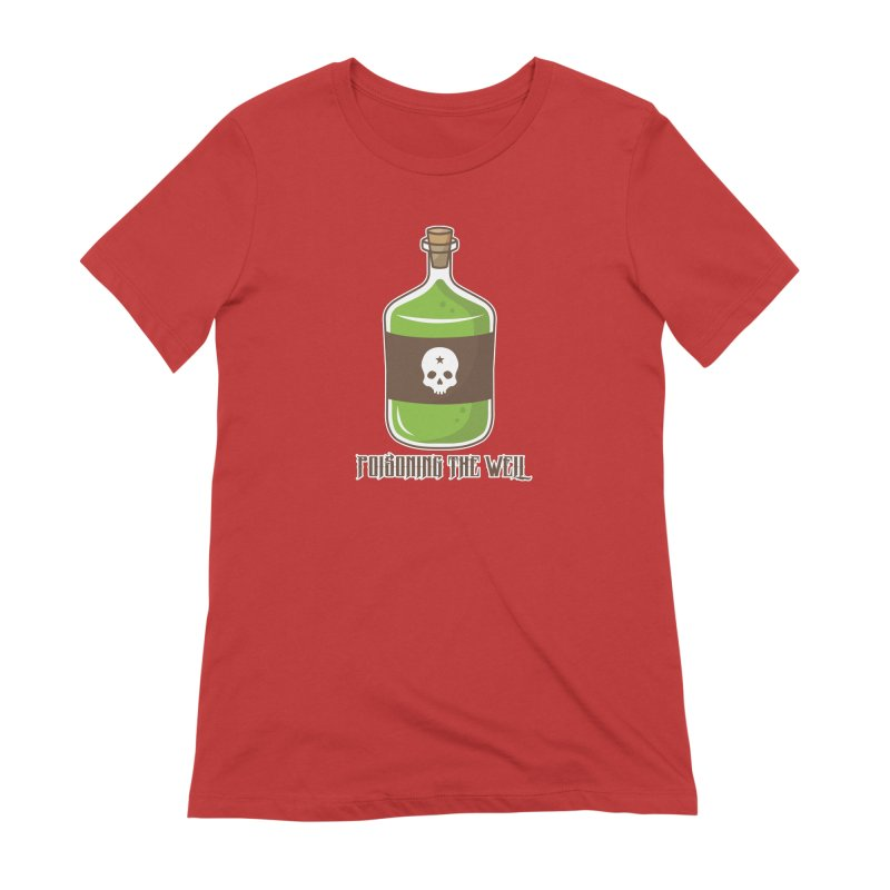Classic Bottle of Poison Women's Extra Soft T-Shirt by Poisoning the Well Swag Shop