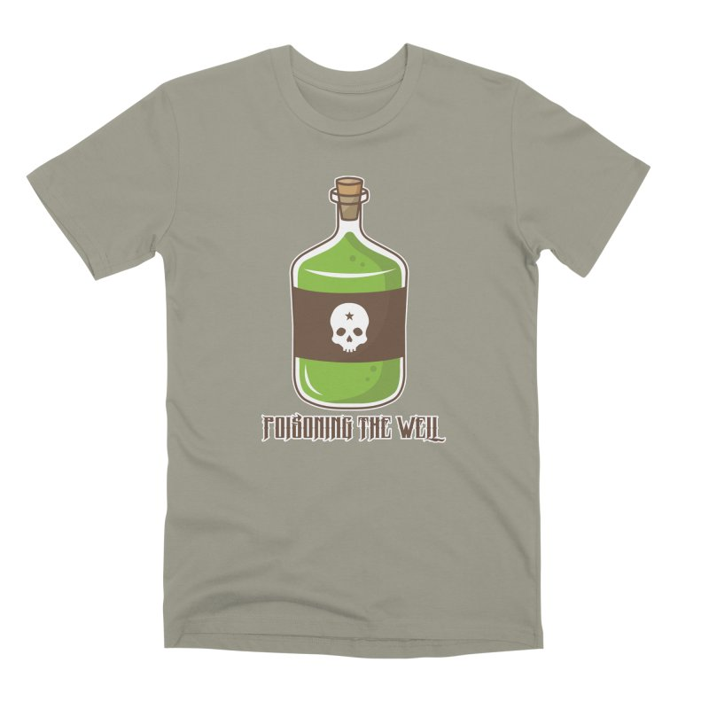 Classic Bottle of Poison Men's Premium T-Shirt by Poisoning the Well Swag Shop