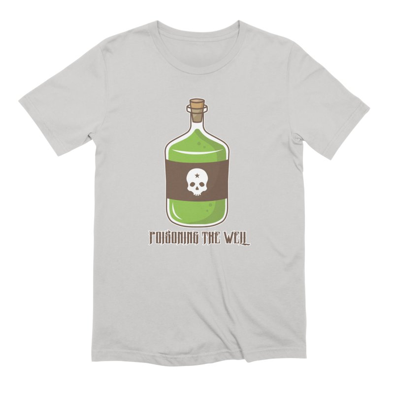 Classic Bottle of Poison Logo Men's Extra Soft T-Shirt by Poisoning the Well Swag Shop