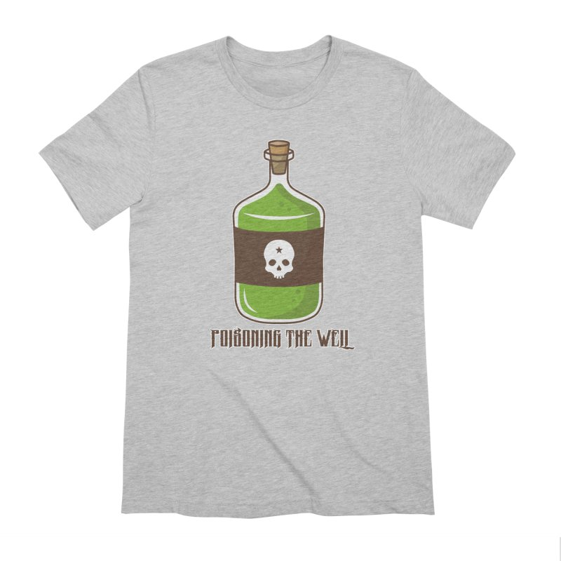 Classic Bottle of Poison Men's Extra Soft T-Shirt by Poisoning the Well Swag Shop