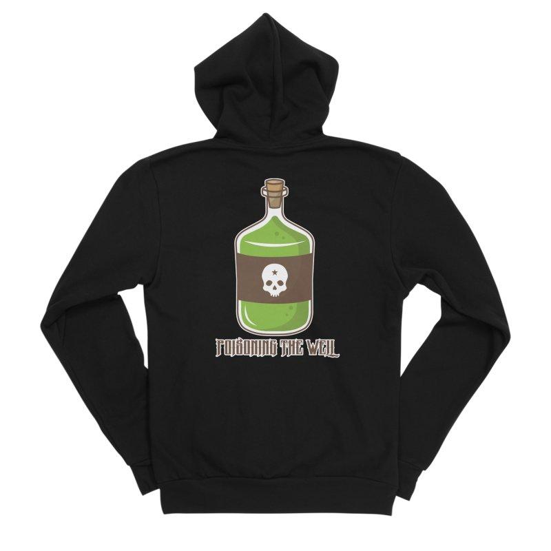 Classic Bottle of Poison Women's Sponge Fleece Zip-Up Hoody by Poisoning the Well Swag Shop