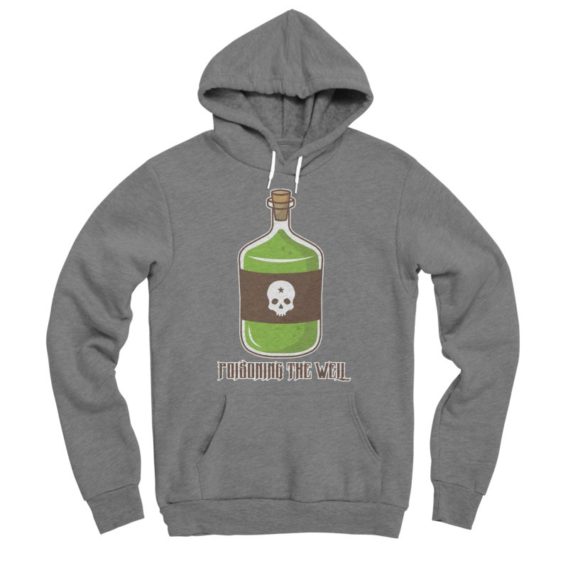 Classic Bottle of Poison Men's Sponge Fleece Pullover Hoody by Poisoning the Well Swag Shop