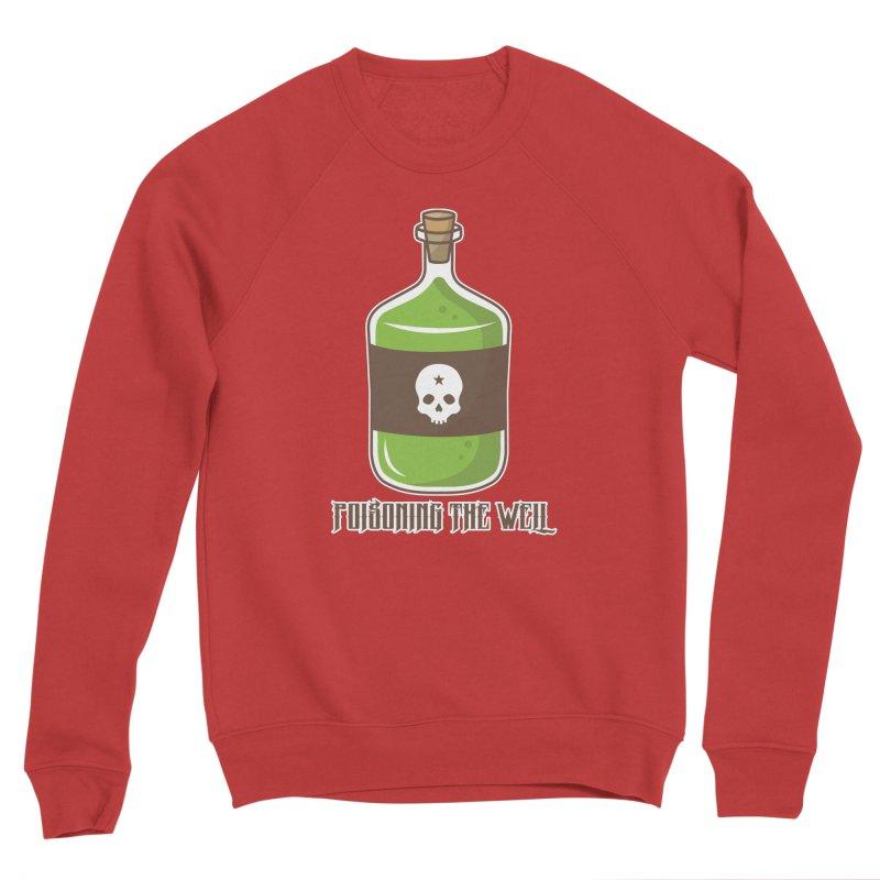 Classic Bottle of Poison Logo Men's Sponge Fleece Sweatshirt by Poisoning the Well Swag Shop