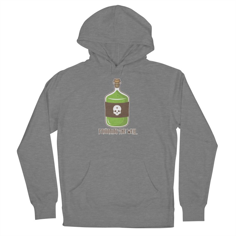 Classic Bottle of Poison Women's French Terry Pullover Hoody by Poisoning the Well Swag Shop