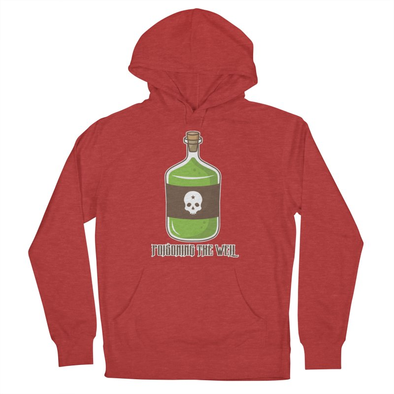 Classic Bottle of Poison Logo Men's French Terry Pullover Hoody by Poisoning the Well Swag Shop