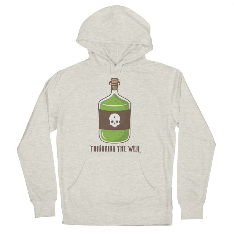 Classic Bottle of Poison Men's French Terry Pullover Hoody by Poisoning the Well Swag Shop