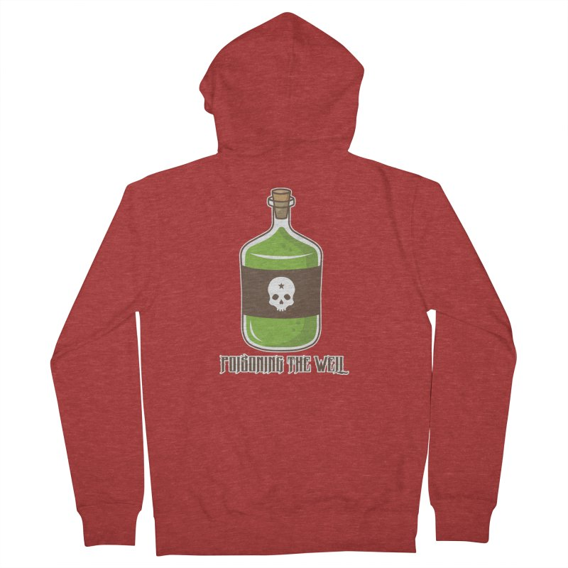 Classic Bottle of Poison Women's French Terry Zip-Up Hoody by Poisoning the Well Swag Shop