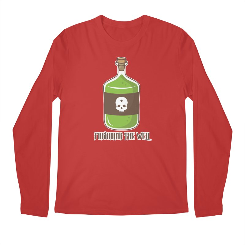 Classic Bottle of Poison Men's Regular Longsleeve T-Shirt by Poisoning the Well Swag Shop