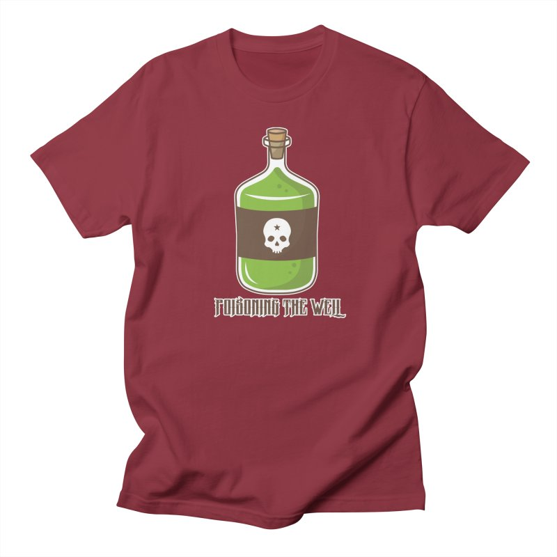 Classic Bottle of Poison Men's Regular T-Shirt by Poisoning the Well Swag Shop
