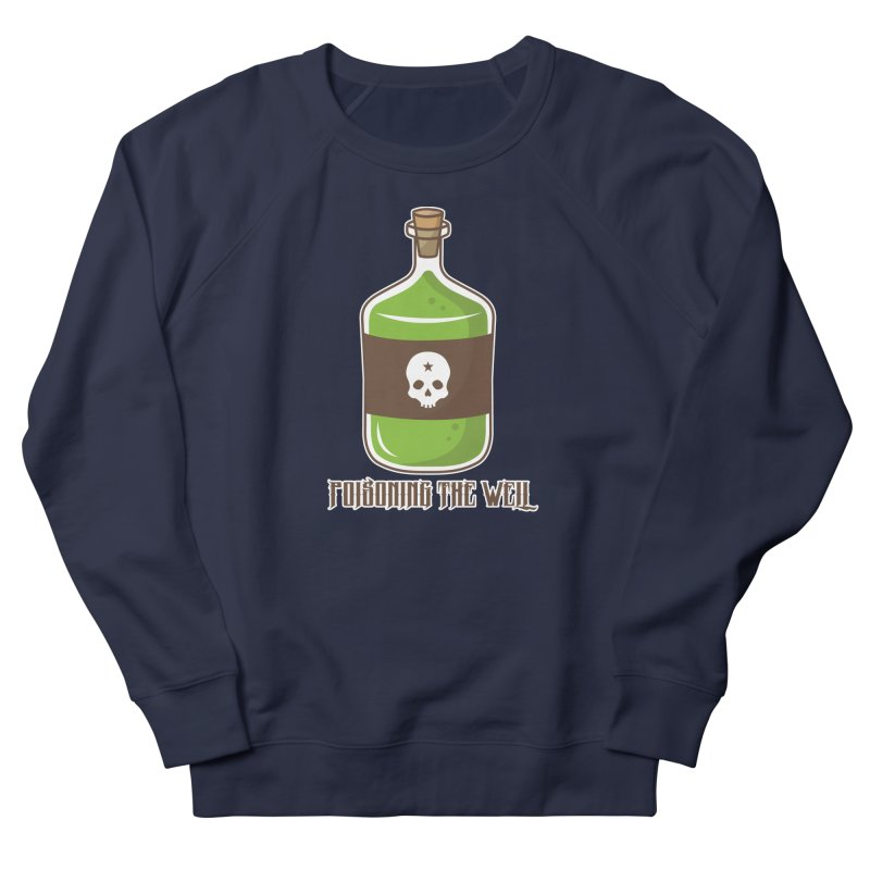 Classic Bottle of Poison Logo Men's French Terry Sweatshirt by Poisoning the Well Swag Shop