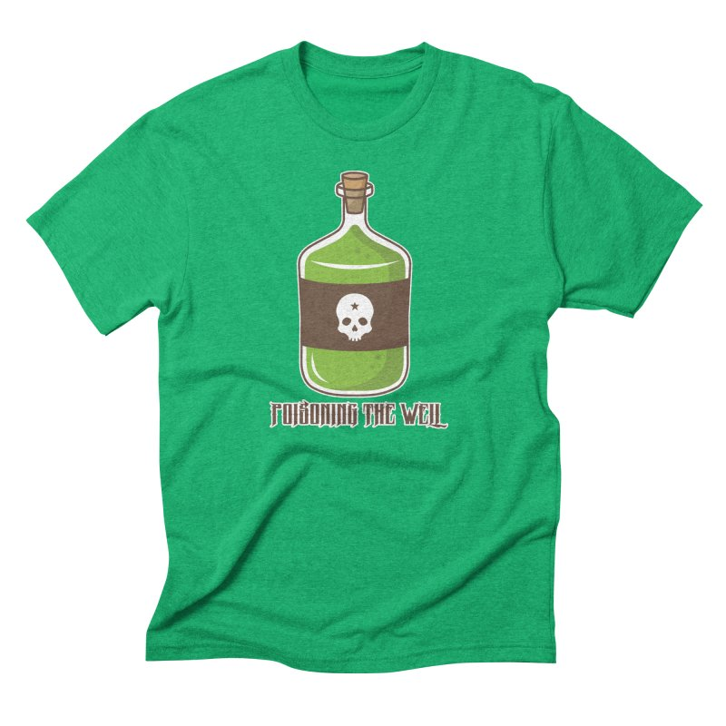 Classic Bottle of Poison Men's Triblend T-Shirt by Poisoning the Well Swag Shop