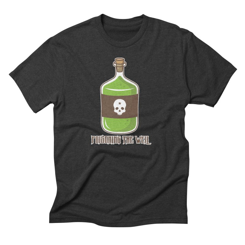 Classic Bottle of Poison Logo Men's Triblend T-Shirt by Poisoning the Well Swag Shop
