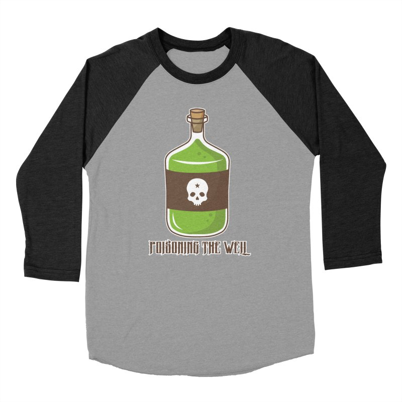 Classic Bottle of Poison Women's Baseball Triblend Longsleeve T-Shirt by Poisoning the Well Swag Shop