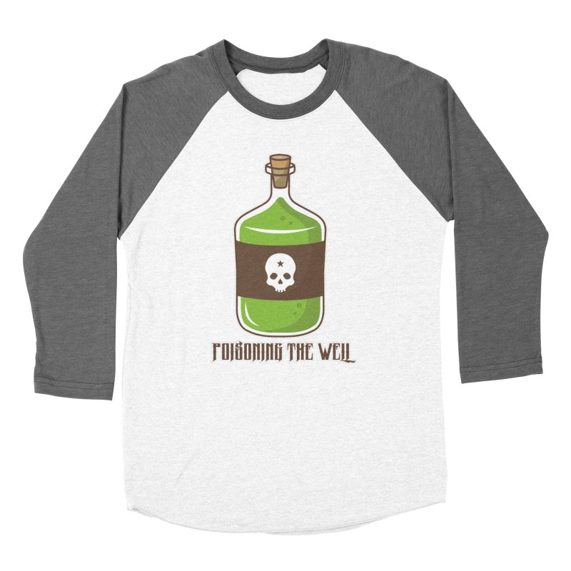 Classic Bottle of Poison Men's Baseball Triblend Longsleeve T-Shirt by Poisoning the Well Swag Shop