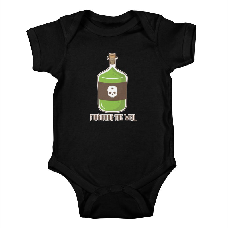 Classic Bottle of Poison Kids Baby Bodysuit by Poisoning the Well Swag Shop