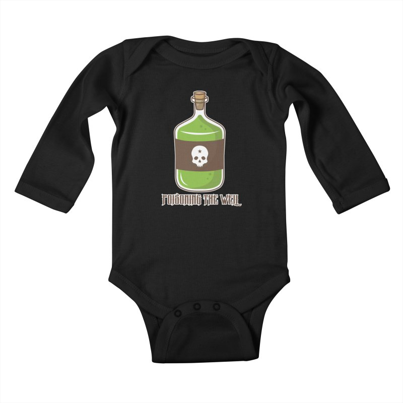 Classic Bottle of Poison Kids Baby Longsleeve Bodysuit by Poisoning the Well Swag Shop
