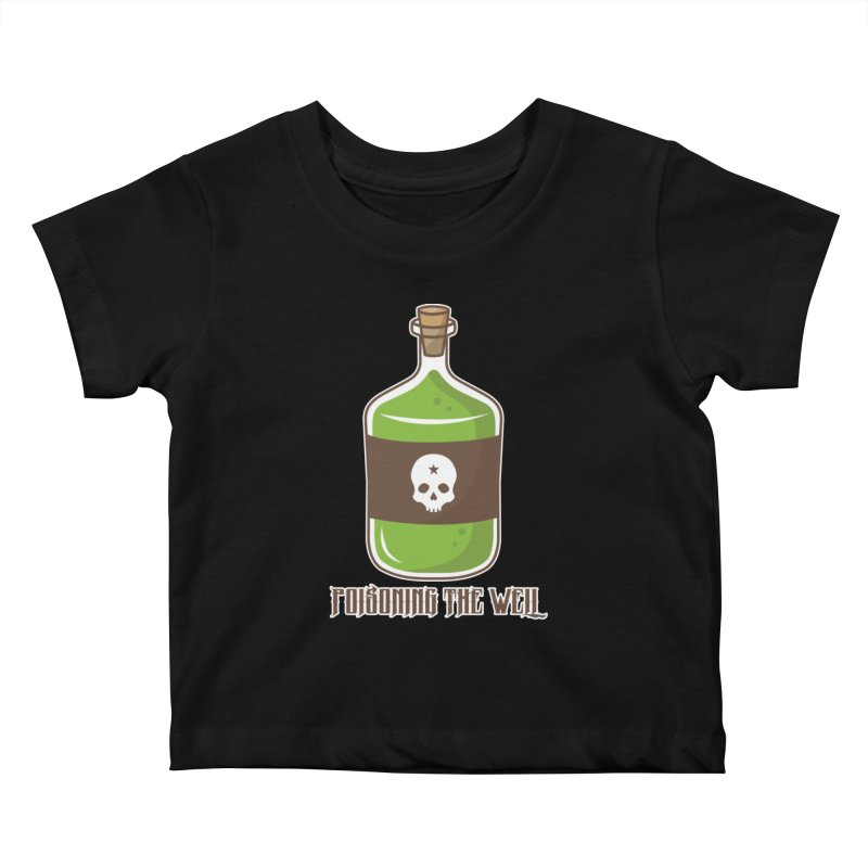 Classic Bottle of Poison Kids Baby T-Shirt by Poisoning the Well Swag Shop