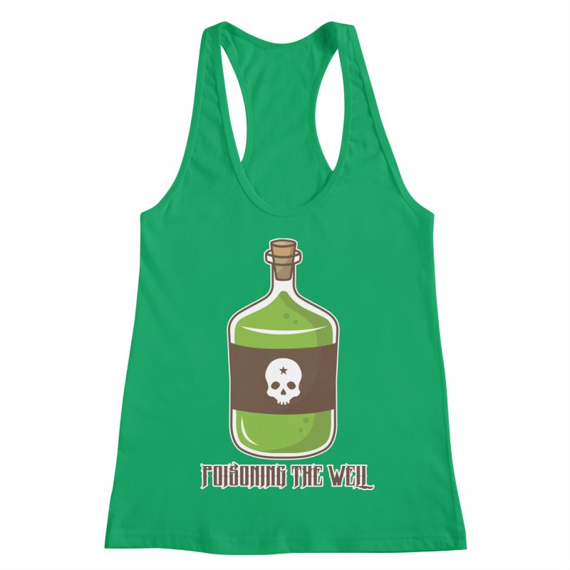 Classic Bottle of Poison Women's Racerback Tank by Poisoning the Well Swag Shop