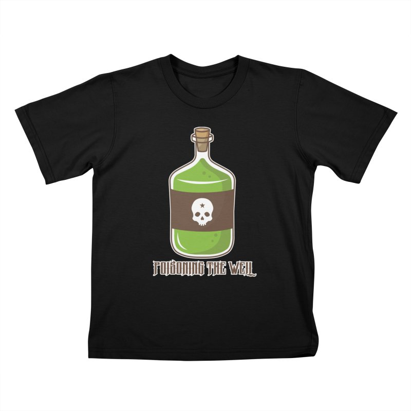 Classic Bottle of Poison Logo Kids T-Shirt by Poisoning the Well Swag Shop