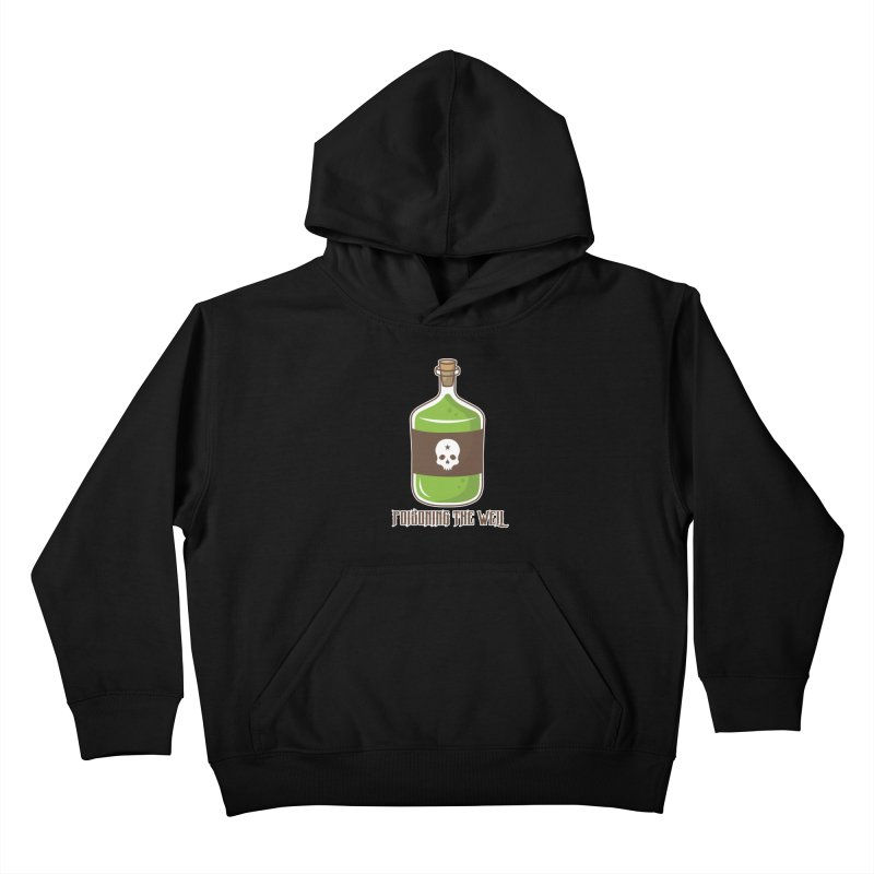 Classic Bottle of Poison Kids Pullover Hoody by Poisoning the Well Swag Shop