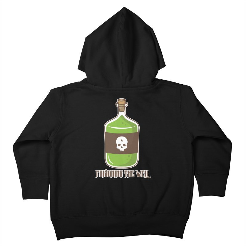 Classic Bottle of Poison Kids Toddler Zip-Up Hoody by Poisoning the Well Swag Shop