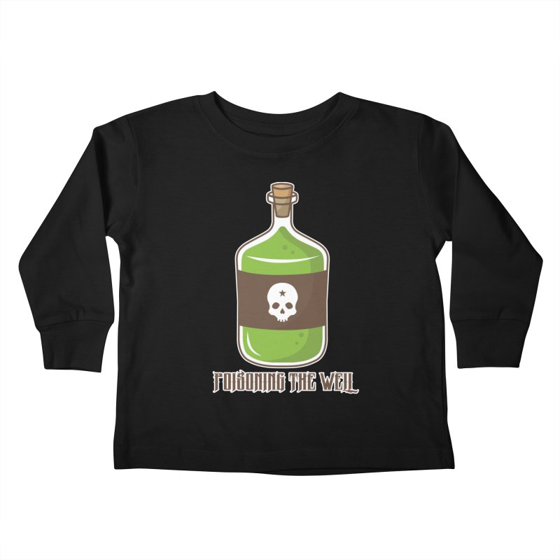 Classic Bottle of Poison Kids Toddler Longsleeve T-Shirt by Poisoning the Well Swag Shop