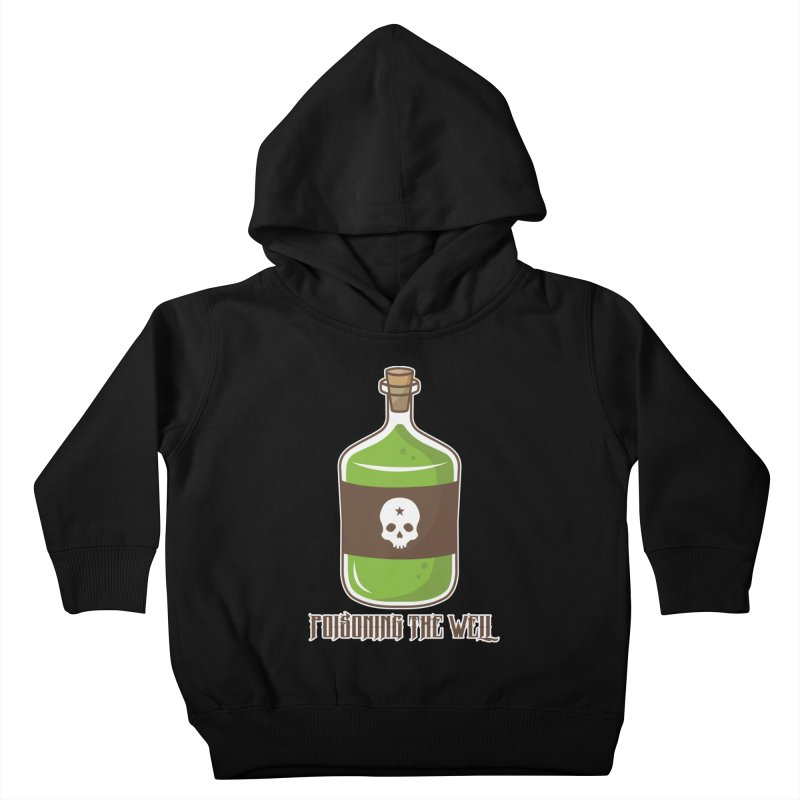 Classic Bottle of Poison Logo Kids Toddler Pullover Hoody by Poisoning the Well Swag Shop