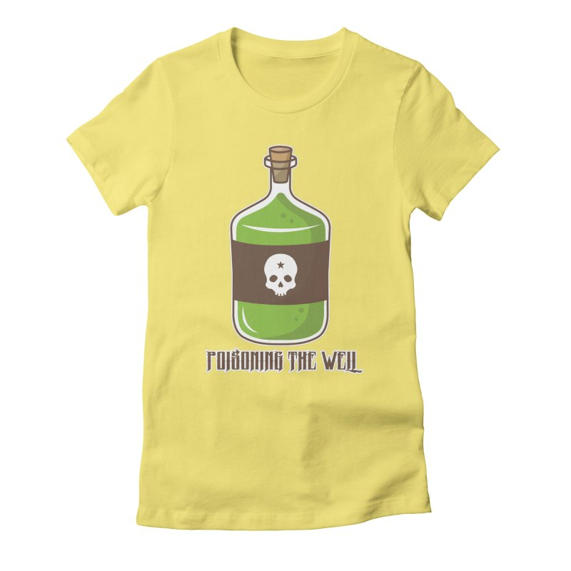 Classic Bottle of Poison Women's Fitted T-Shirt by Poisoning the Well Swag Shop
