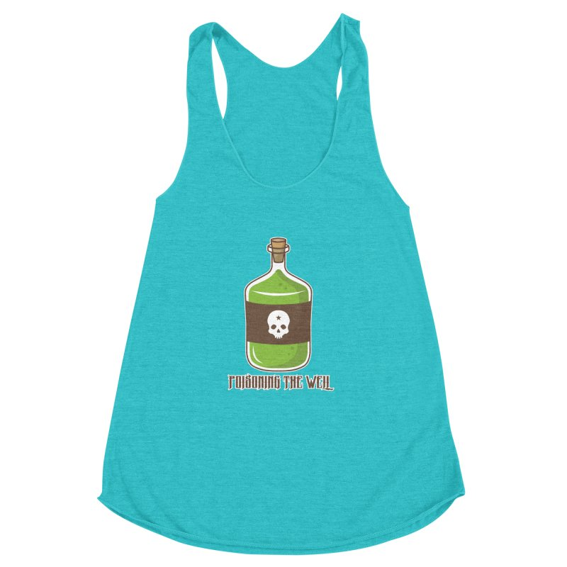 Classic Bottle of Poison Women's Racerback Triblend Tank by Poisoning the Well Swag Shop