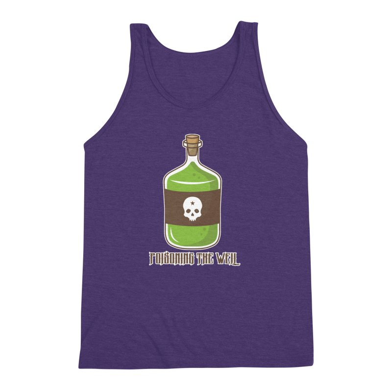 Classic Bottle of Poison Men's Triblend Tank by Poisoning the Well Swag Shop
