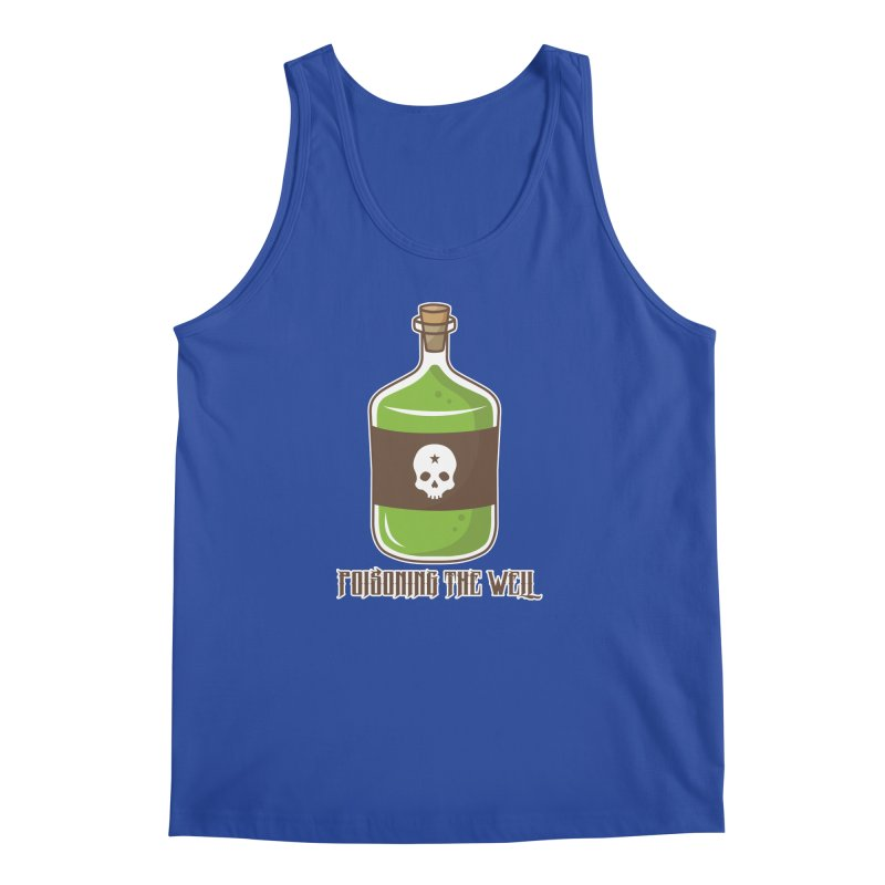 Classic Bottle of Poison Logo Men's Regular Tank by Poisoning the Well Swag Shop
